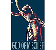 God of Mischief  Photographic Print