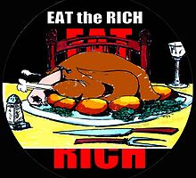 EAT THE RICH by johnlegry