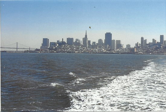 Sailing To Sausalito by RobynLee