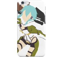 Sinon Minimalistic - Sword Art Online 2  iPhone Case/Skin