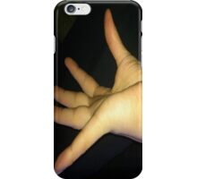 DAY 24 - 365 DAY PROJECT - 'ONE DAY AT A TIME' FOUR FINGERS, ONE THUMB .. (SOLD) iPhone Case/Skin