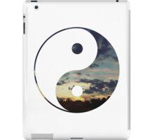 CLOUDY NIGHT YIN YANG iPad Case/Skin