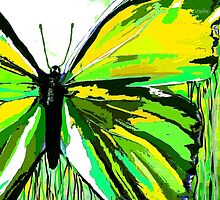 A Butterfly So Green by Saundra Myles
