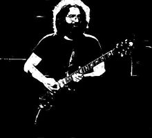 "Jerry Garcia- ""Pure Jerry"" Grateful Dead 1978 by OnePeaceTees"