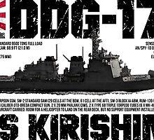 JDS Kirishima (DDG-174) by deathdagger