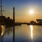 Canning Dock Sunset by Paul Madden