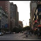 23rd st, nyc, 2014-09, 06:44 by mark drago