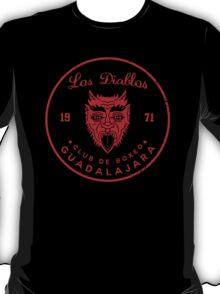 Los Diablos Club de Boxeo - distressed design T-Shirt