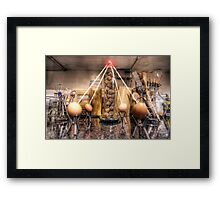 The Egg Wars IV - The Last Act of Defiance Framed Print