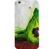Just One Avocado iPhone Case/Skin