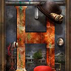 Steampunk - Alphabet - H is for Hats by Mike  Savad