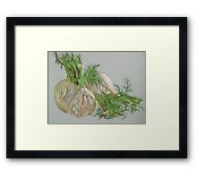 Fennel Framed Print