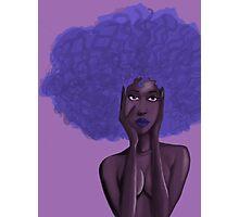 Afro Blu Photographic Print