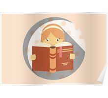 Reading - Do Not Disturb Poster