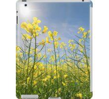 Sun Halo Over The Canola iPad Case/Skin