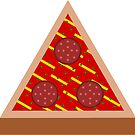 Hipster Triangle Pizza by pda1986