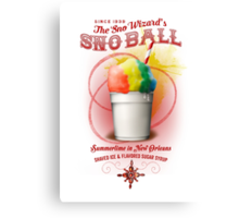 New Orleans SnowBall Canvas Print