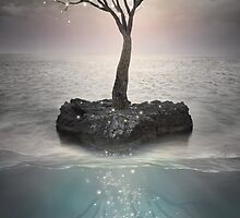 The Roots Below the Earth (Tree of Solitude) by soaringanchor
