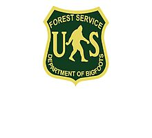 US Forest Service Bigfoot  Photographic Print