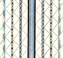 Touch of Color Geometric Design by Linda Ginn Art