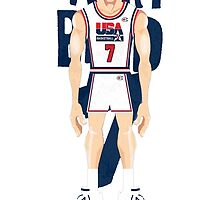 Larry Bird Team USA by samjones24