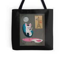 French Bulldog At Home Tote Bag