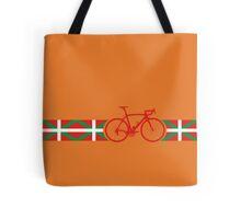 Bike Stripes Basque Tote Bag