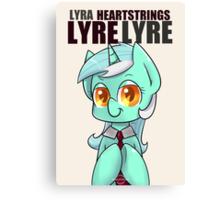 Lyre Lyre Canvas Print