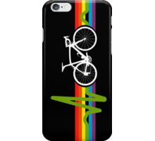 Bike Stripes Dark Side iPhone Case/Skin