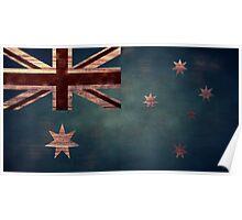 Australian Flag I Poster