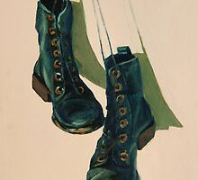 Black Boots by Megan  Koth