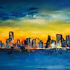 Chicago Skyline by Elise Palmigiani