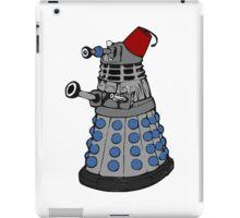 Doctor who dalek fez  iPad Case/Skin
