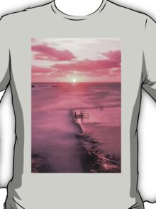 Bude, Cornwall, UK, Tidal Pool Sunset ~ Atlantic Coast T-Shirt
