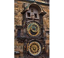 †† Prague Astronomical Clock †† Photographic Print