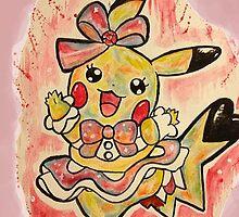 Cute Pikachu Dress Tshirts + More! by Jonny2may