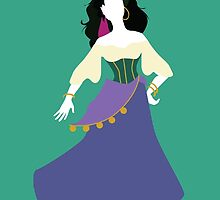 Disney - Esmeralda from The Hunchback of Notre-Dame by awiec