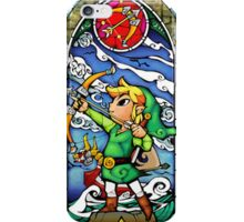 LoZ Bow and Arrow Stained Glass iPhone Case/Skin
