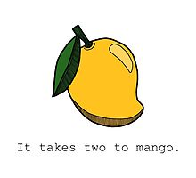 It takes two to mango. by tosojourn