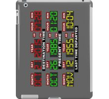 TIME CIRCUITS ON! iPad Case/Skin