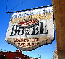 Route 66 - Oatman Hotel by Frank Romeo