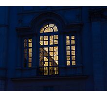 A Glimpse Through a Window - Piazza Navona, Rome, Italy Photographic Print