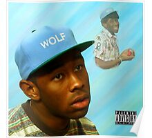 Tyler, the Creator Wolf Album Cover Poster