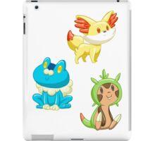 Pokemon Starters - Gen 6 iPad Case/Skin