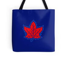 Vintage Retro Canadian Style Maple Leaf Symbol Tote Bag