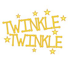 TWINKLE TWINKLE little stars Childrens nursery rhyme by jazzydevil