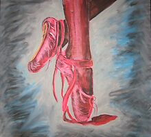 The Red Shoes by jonolaf