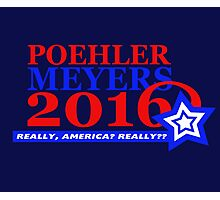 Poehler/Meyers 2016 Photographic Print