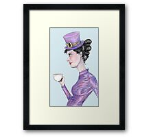 Tea at 20 paces Framed Print