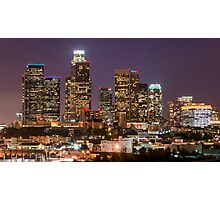 LA Skyline Photographic Print